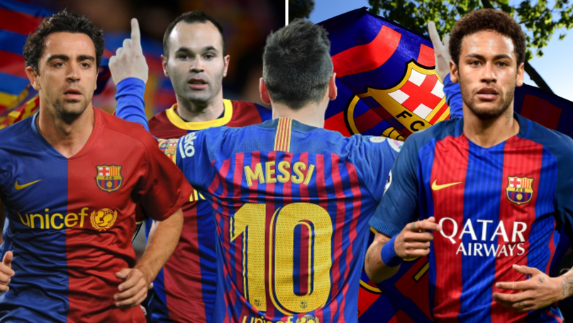 Messi's Goalscoring Stats Without Xavi, Neymar And Iniesta Silences His Fiercest Critics