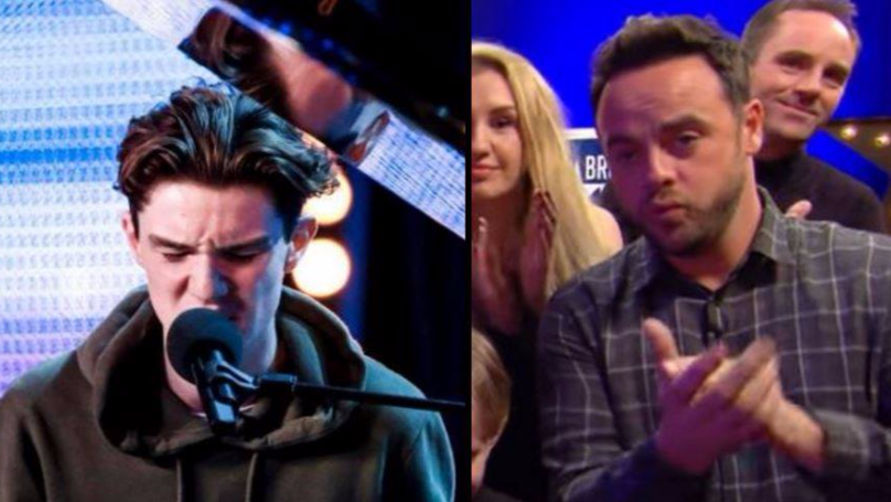 Teenager Performs Heartfelt Song For His Nan On Britain's Got Talent