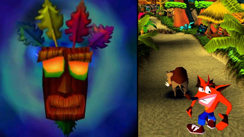 What Does The Mask In Crash Bandicoot Actually Say?
