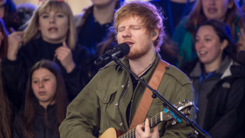 It's Official, Ed Sheeran Is Headlining Glastonbury