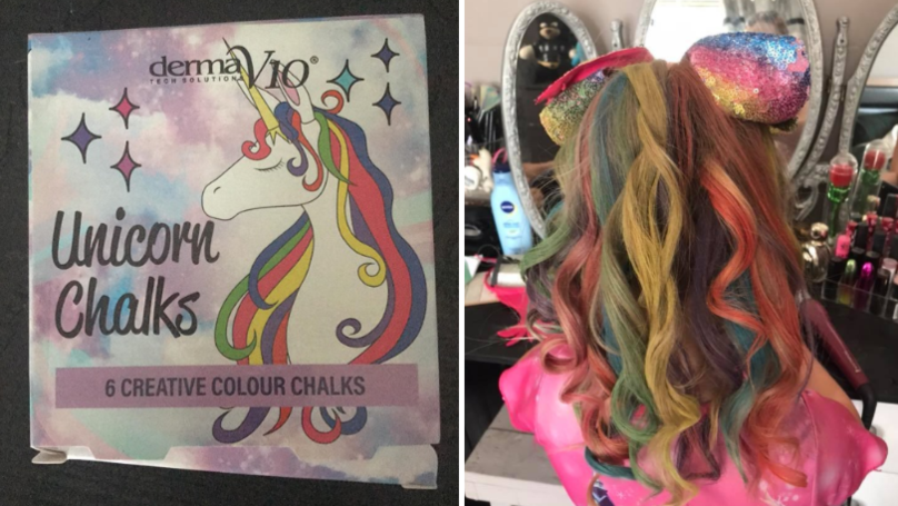 Poundland Is Selling Dreamy Unicorn Hair Chalks Perfect For Festivals