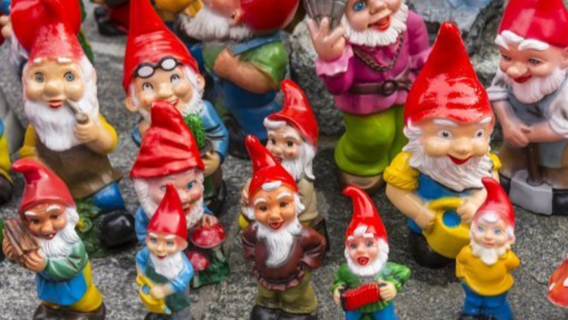 Customer Spots Cheeky Gnome Swearing And Flashing In Poundland