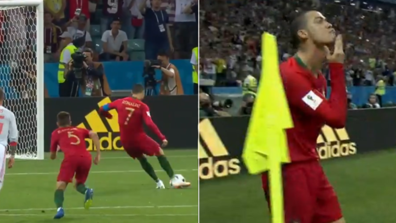 People Think They've Worked Out The Reason Behind Cristiano Ronaldo's Celebration