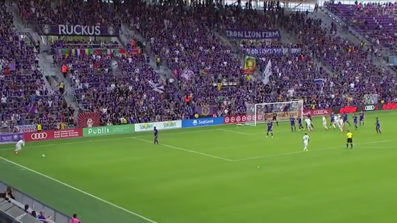 Wayne Rooney Scores An Outrageous Free-Kick For DC United Against Orlando City