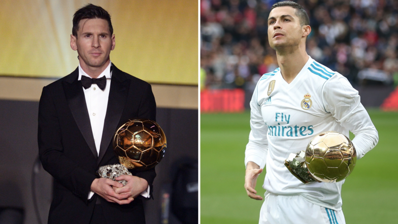 Cristiano Ronaldo And Lionel Messi's Position In 2018 Ballon d'Or Nominees Leaked