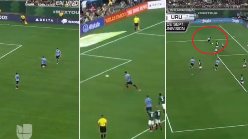 Luis Suarez Scores Free-Kick, Panenka Penalty And Produces Outrageous Rabona Assist
