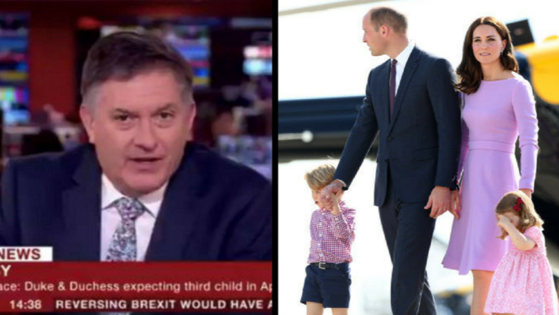 BBC Newsreader Really Doesn't Think Royal Baby Due Date Is News