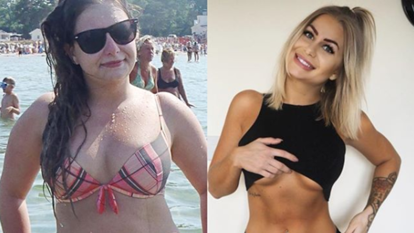 Woman Shows Off Incredible Transformation After Swapping Booze For Diet
