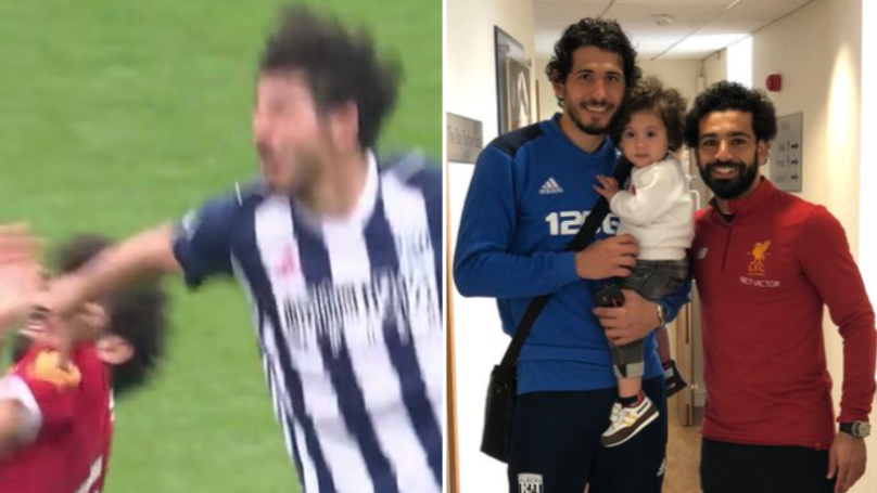 Mohamed Salah And Ahmed Hegazi Get Into Brilliant Twitter Exchange After WBA Vs. Liverpool