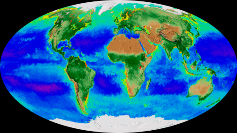 New NASA Map Of Earth Shows Climate Change Over Past Twenty Years