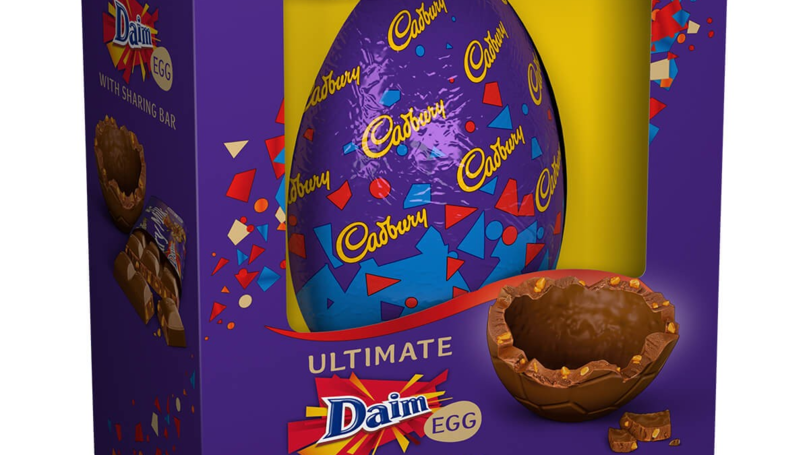 Cadbury Has Released An Easter Egg With Daim Pieces In The Shell