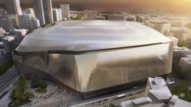 Real Madrid's Stunning €400 Million Santiago Bernabeu Redevelopment Is Going To Be Next Level