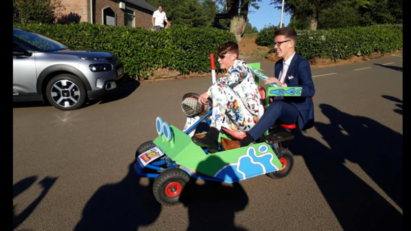 LADs Go To Prom On A Homemade Toy Story RC Kart