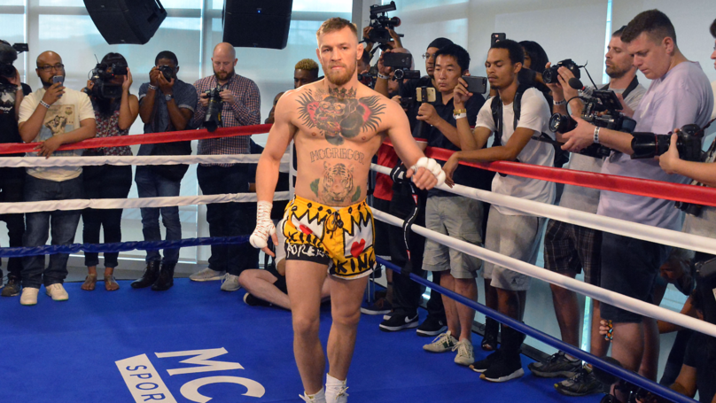 McGregor Has Responded To Boxers Taking The P*ss Out Of His Shoulder Warm-Up