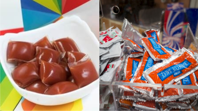 ​Just Eat Launches Biodegradable Sauce Sachets Made From Seaweed