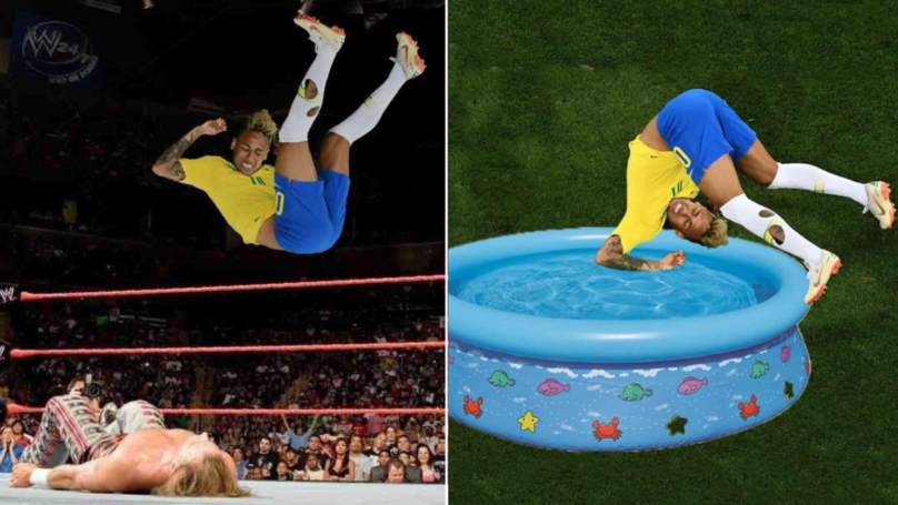 Neymar's 10/10 Diving Antics Against Switzerland Get The Photoshop Treatment