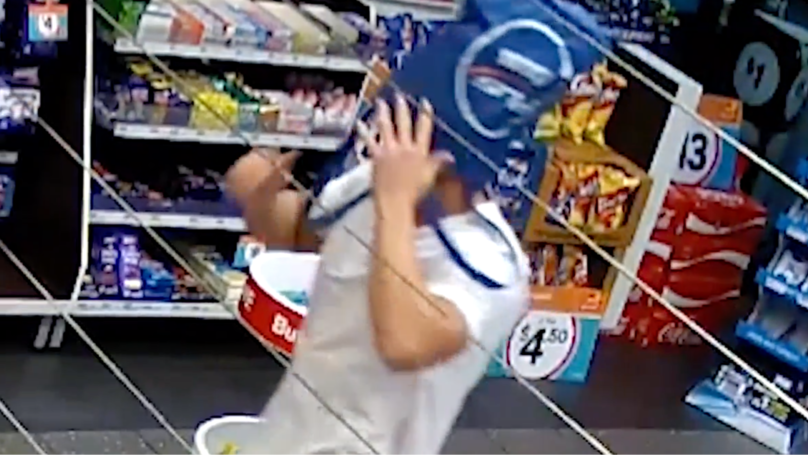 Police Looking For Bloke Who Robbed Queensland Servo With A Shopping Bag On His Head