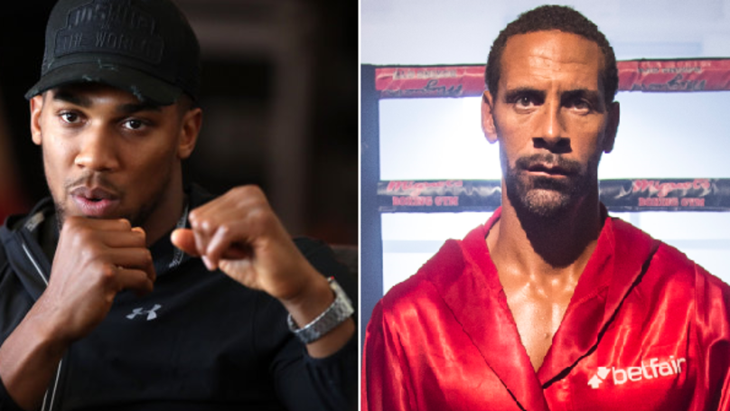 Rio Ferdinand Reveals What Anthony Joshua Told Him After He Turned To Boxing