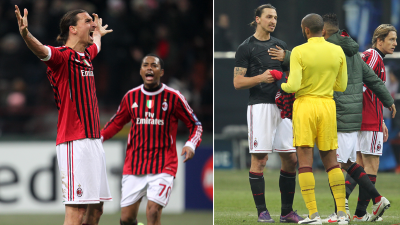 The AC Milan Starting XI That Last Met Arsenal In European Competition Is Just Wonderful