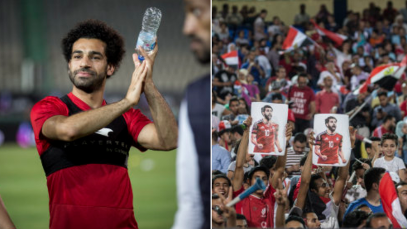 Mohamed Salah Attends Egypt Training Session In Front Of Thousands Of Fans