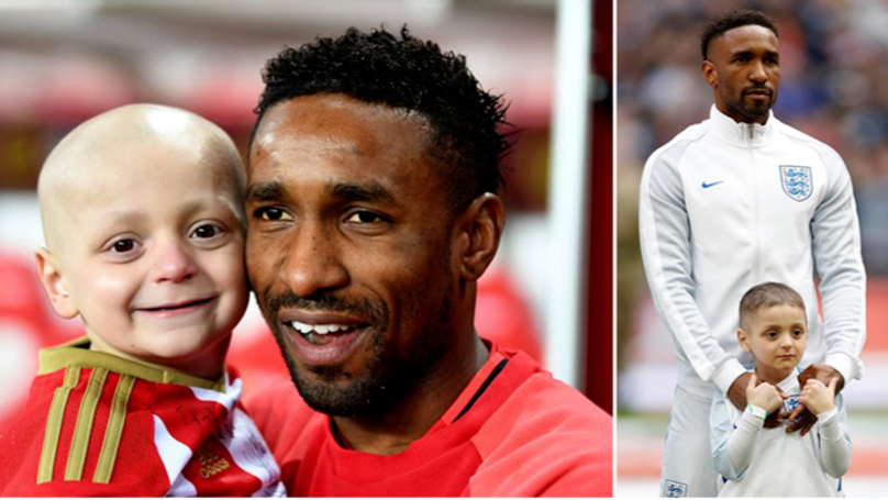 Jermain Defoe Pays Tribute To Bradley Lowery With Beautiful Message