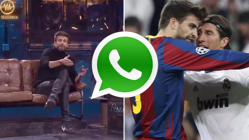 Gerard Pique Adds Real Madrid Journalists To A WhatsApp Group, Sends Them Pig Emojis And Kicks Them Out