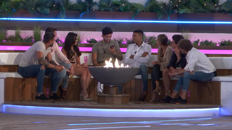 Love Island 2018: Fans Mock The Boys For Warming Up By The Fire While In Spain