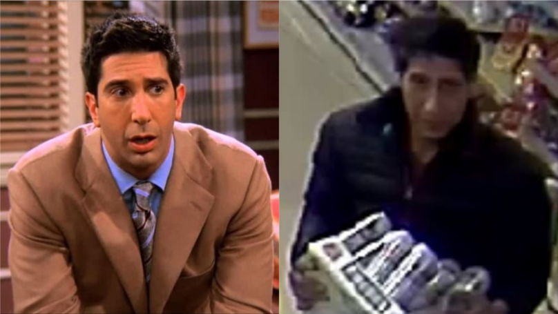 ​Everyone Reckons This Guy Who Stole A Crate Of Lager Looks Like Ross From 'Friends'