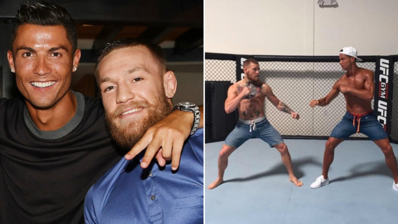 Conor McGregor Has 'Surpassed' The Incredible Promise He Made To Cristiano Ronaldo