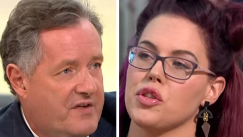 Piers Morgan Argues Against School Skirt Ban In Heated Debate
