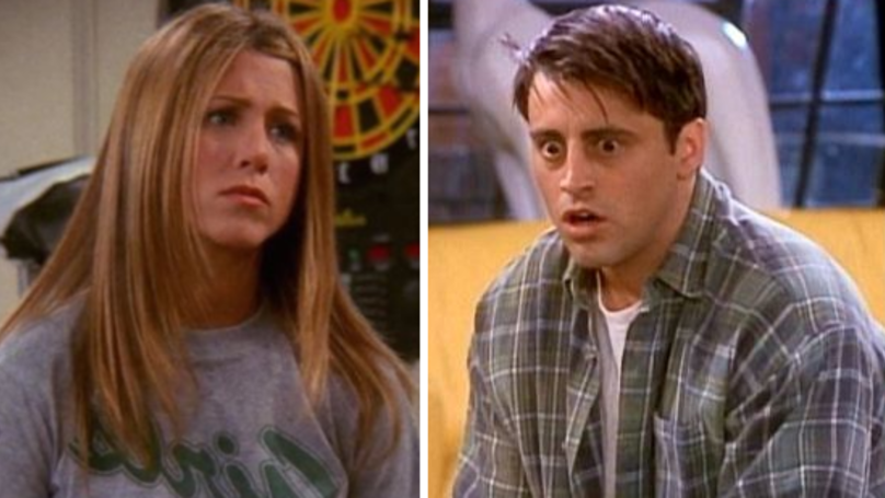 WATCH: Unearthed Friends Footage Shows Matt LeBlanc Mouthing Jennifer Aniston's Lines