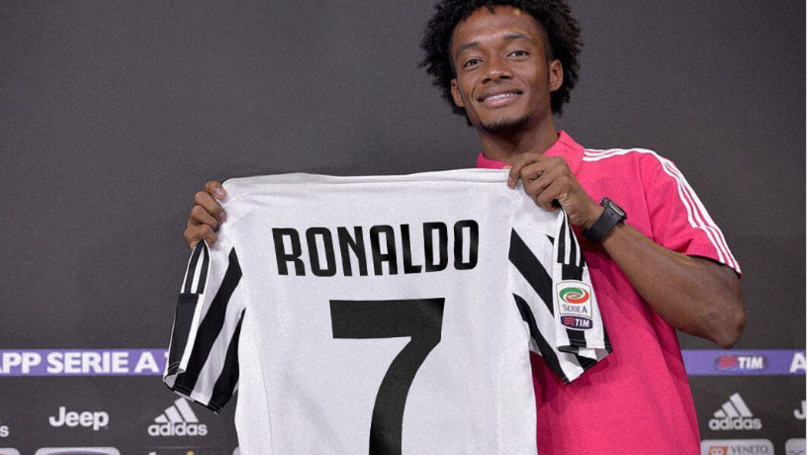 Juan Cuadrado Sends Classy Message To Cristiano Ronaldo After Giving Him His Shirt Number
