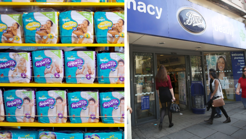 Boots Is Now Selling 5 Bumper Packs Of Nappies For £20