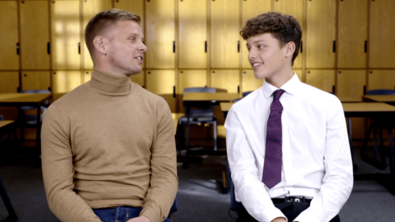 Jeff Brazier's Son Cringes Over X-Rated Confession On 'Let's Talk About Sex'