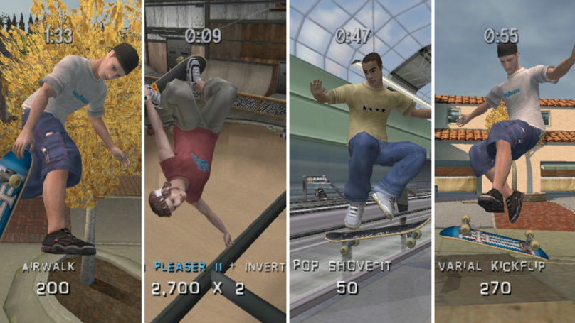 Tony Hawk's Pro Skater 3 Named The Best PlayStation 2 Sports Game Ever