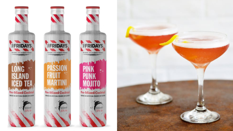 Hold On To Summer With Bottles Of TGI Fridays' Passion Fruit Martini