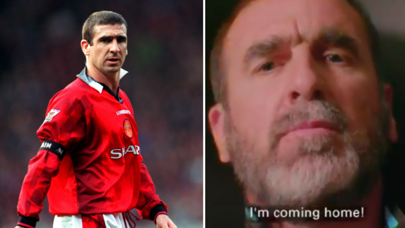 Eric Cantona To Return To Old Trafford For Soccer Aid