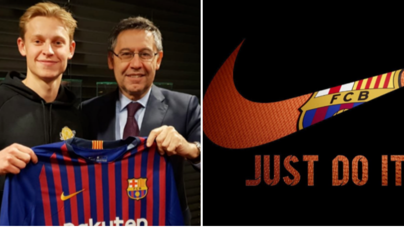 Frenkie De Jong Signed For Barcelona Over PSG 'Because Of Nike's Involvement'
