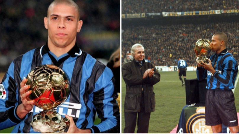 On This Day In 1997, Ronaldo Won His First Ballon D'Or