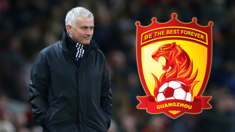 José Mourinho Has Turned Down A Whopping £88m Offer From Chinese Side Guangzhou Evergrande