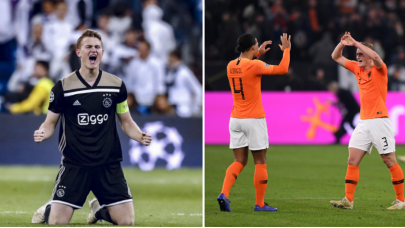 Ajax Captain Matthijs de Ligt Open To Joining Virgil van Dijk At Liverpool