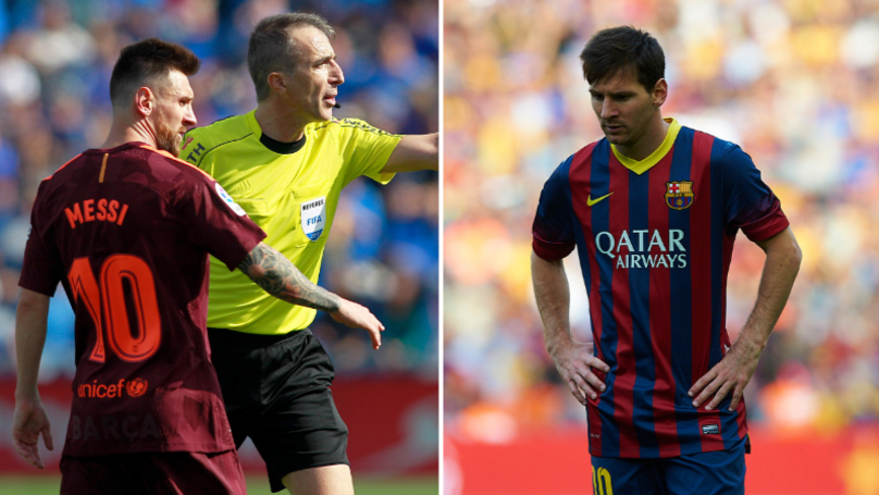 Why La Liga Referee Had To Apologise To Lionel Messi