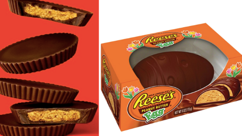 Abandon Lent - Reese's Peanut Butter Egg Is Here