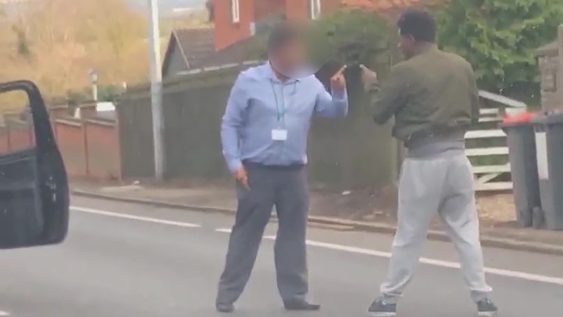 Video Shows 'Comical' Fight Between Drivers Before Getaway Leads To Another Crash