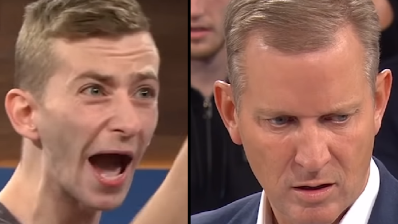 Angry Man's 'Gangster' Threats Leave Jeremy Kyle More Baffled Than Intimidated