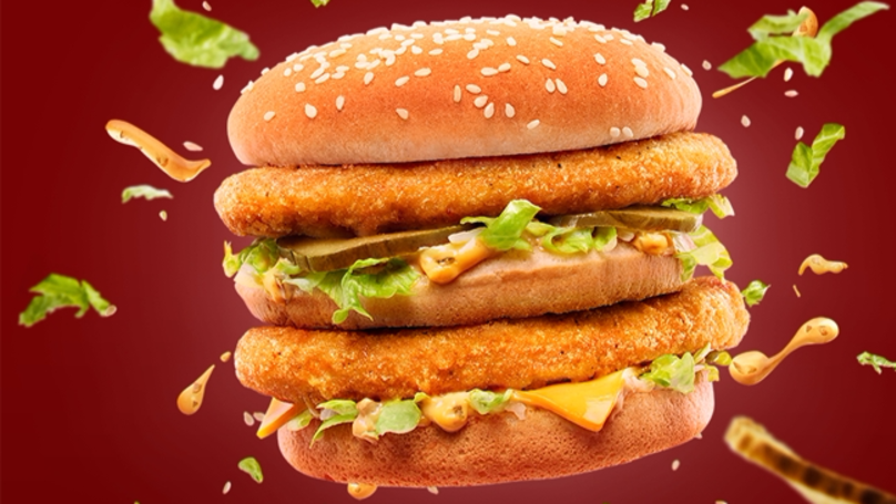 There's A Chicken Big Mac And It Looks Spectacular
