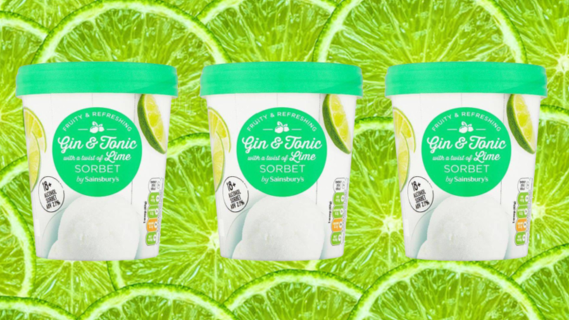 Sainsbury's Is Selling 66 Calorie Gin And Tonic Sorbet And It's Super Cheap