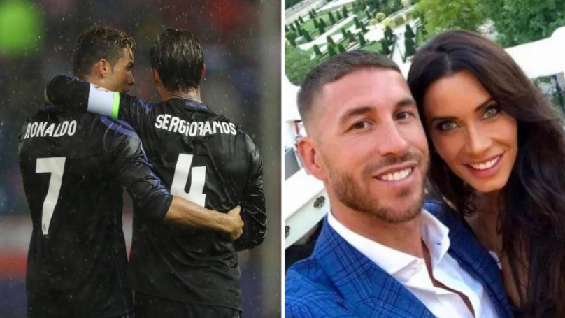 Sergio Ramos Hasn't Invited Cristiano Ronaldo To His Wedding Following Real Madrid Fallout