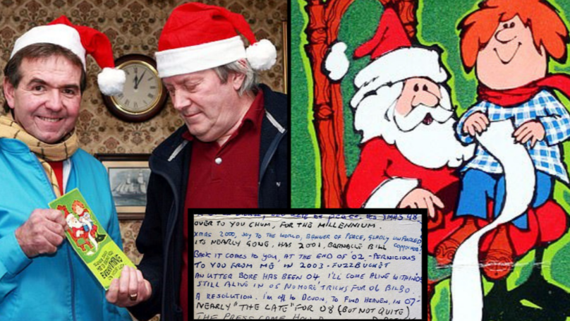 Two Men Exchange The Same Christmas Card For 43 Years