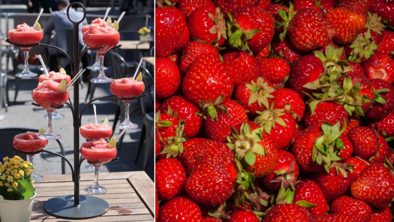This Frozen Strawberry Daiquiri Tree Is Perfect For A Bank Holiday Treat